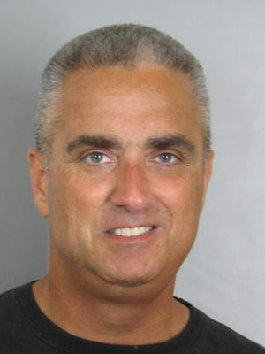 """Richard """"Scott"""" Silverthorne, mayor of Fairfax, Va., is shown in a booking photo following his arrested Aug. 4, 2016, on charges of distribution of methamphetamine."""