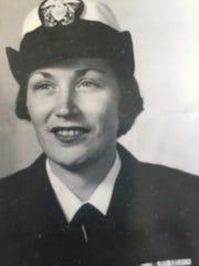 U.S. Navy Lt. Aggie (Rinas) Haley