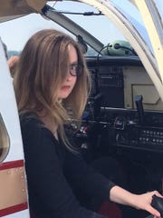 The pilots and instructors at Jet Air Group were said to be impressed by student Olivia Dahl and considered her a natural.