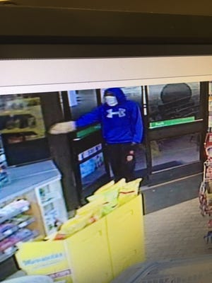 The identity of a man who robbed a 7-Eleven on San Carlos Boulevard on Sunday is being sought.