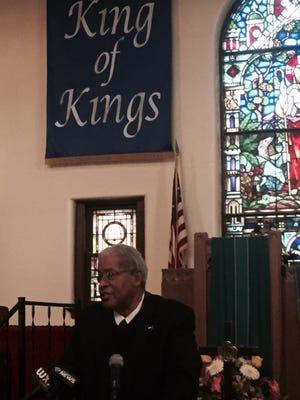 Pastor William Wilkinson