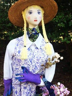 """Jasmine the Gardener"" is the creation of the Jasmine Garden Club, Tallahassee Garden Club."