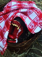 What is that in Little Red Riding Hood's basket? Created