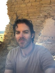 Artist John Vokoun says his time at Chaco Culture National Historic Park has led him to break his normal habit of sticking to a routine.