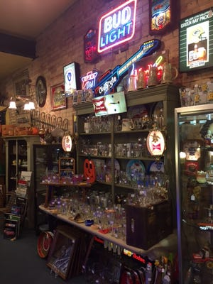 Primitives for home and cottage, jewelry, coins and a large selection of vintage fishing gear including tackle boxes, minnow cans and lures are just a few of the types of antiques Lyn's Antiques LLC has to offer.