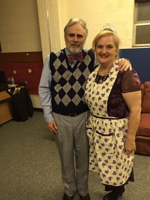 """Kirk and Sue Krekeler have performed together in at least 30 plays, including """"You Can't Take It With You."""""""