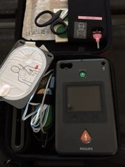 Automated External Defibrillation devices aid first responders during emergencies.