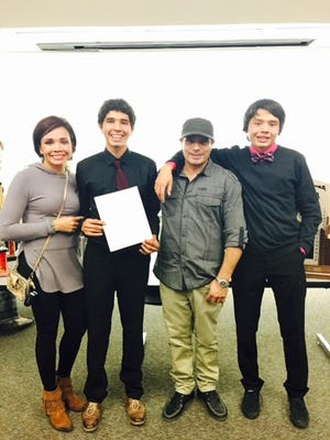 Desert Hills' Jaiden Melendrez signed his National Letter of Intent with SUU Monday night. Melendrez took home the region and 3A state individual titles this season.