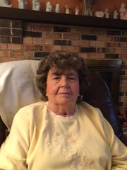 Harriet Henderson, 80, at home in West Des Moines.