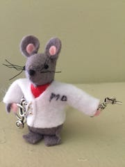 """""""Dr. Squeak"""" has been named as the next mouse in the collectible Cathedral Mouse series."""