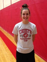 The challenging first month of the season is being welcomed by Canton senior Erin Hult.