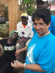 Also among the volunteers who traveled to Haiti was