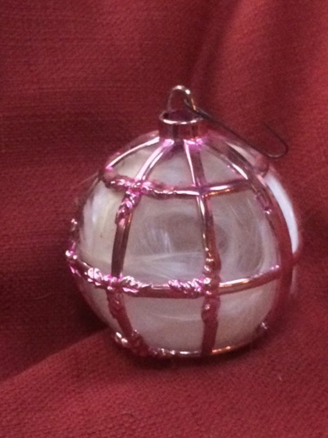 CHRISTMAS LEGACY: Prized ornaments adorn our holiday trees