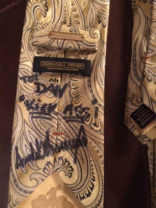 BHM trump tie