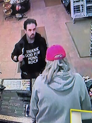 The Door County Sheriff's Department is looking to identify a man suspected of stealing about $20 in items from a Door County business on Saturday.