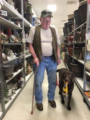 Veteran Bob with Bodacious