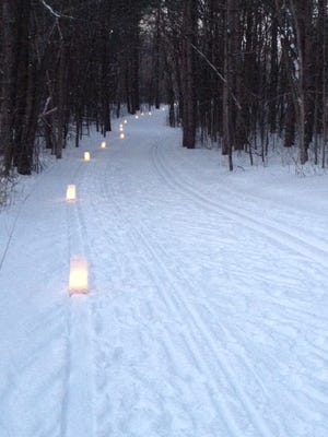 The Zillmer loop will be lit by candle luminaries on Saturday.