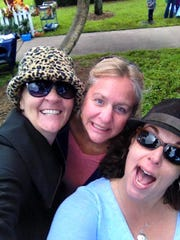 Christina Kaiser (from left), Doni Sue Jones and Colleen Hassler attend the 2016 Storybook Forest.