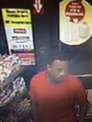 The Lafayette Police Department is seeking the public's help in identifying and locating a person of interest in connection with a shooting at a Circle K Feb. 9.