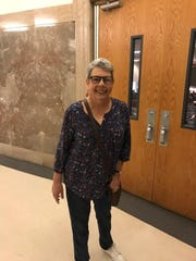Cheryl Simon attended the recent town hall meeting to speak out for health care - and in memory of two friends who died without it.
