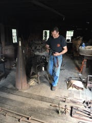 Dale Morse of the Virginia Institute of Blacksmithing