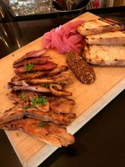 Try this three animal bacon board featuring duck, rabbit