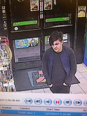 Newberry Township Police obtained this surveillance photo of a suspect believed to be involved in a series of ATM card-skimming scams in York County.