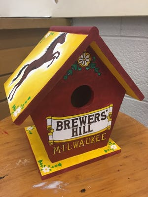 Thirty birdhouses designed by students from Milwaukee High School of the Arts will be on display at this year's Realtors Home & Garden Show.