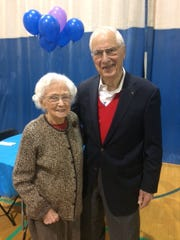 Longtime Birmingham residents Bob and Shirley Kenning.