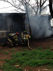 Crews with Murfreesboro Fire Rescue Department rescued