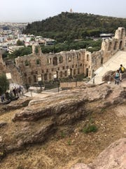 The ancient ruins make any visit to Anthens, Greece, an adventure.