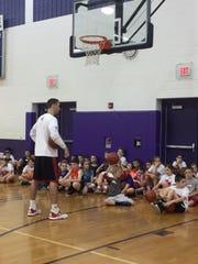Former Wisconsin basketball standout Josh Gasser will