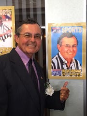 Hillard Grossman at Friday night's gala honoring Hall of Fame members at the Cocoa Beach Country Club.