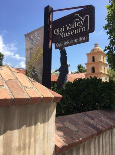 Ojai Valley Museum exterior.
