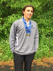 Kinnelon senior Richie Neufeld posted the best sore of 4-over 76 in Group 1 in Monday's NJSIAA Tournament of Champions.