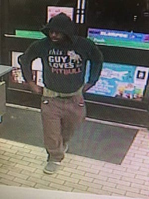 Cocoa police are searching for a suspect after a  commercial burglary Tuesday morning.