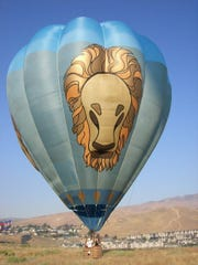 Bob's Cat, the hot air balloon of Robert Kinsinger.