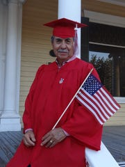 Amador Y. Duran, 70, will walk the stage with the Robstown High School Class of 2017 -- 50 years after what would have been his graduating year in 1967.