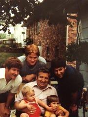 Clockwise from left, Randy Ball, Russ Ball, Craig Ball