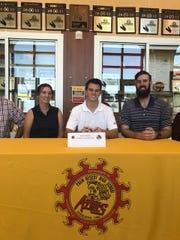 Palm Desert senior soccer player Aaron Gipson signed