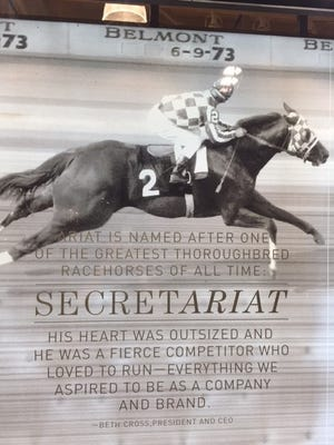 Ariat a global footwear and apparel company has a new collection highlighting accomplishment of Secretariat