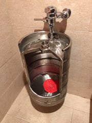 The famous Coasters Taphouse urinal!