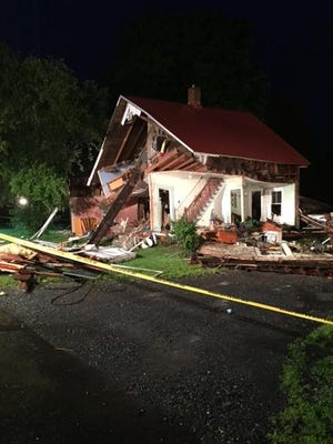 A house exploded in Bradford Thursday, June 29, 2017, according to police.