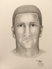 Sparks police released a composite sketch of the possible suspect involved in the carjacking case.