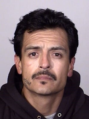 Robert De La Cerda, 38 of Oxnard, was arrested Tuesday on suspicion of possession of a sawed-off rifle and other charges.