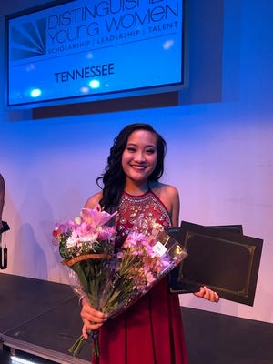 Merrol Hyde Magnet School senior Mia Rodriguez represented Sumner County in the Distinguished Young Woman of TN State Finals July 22.