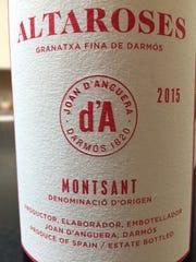 Altaroses 2015, $17.Joan d'Anguera; 14 percent alcohol.