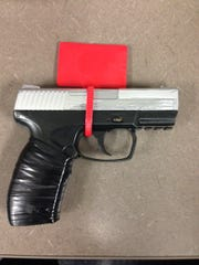"""During a search, Desert Hot Springs police found a suspect under arrest to be in possession of a """"very real looking"""" fake gun."""