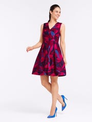 Draper James, Autumn Bloom Love Circle Dress $250
