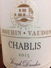 Drouhin-VandonChablis 2015(Chardonnay). Chablis,